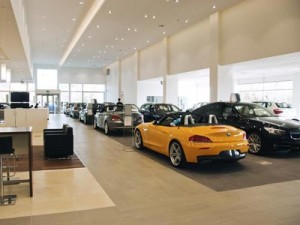 Wayside BMW showroom - MK Commerce