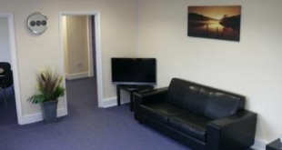 Cranfield Airport - passenger lounge