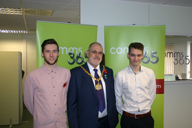 Comms365 mayor visit